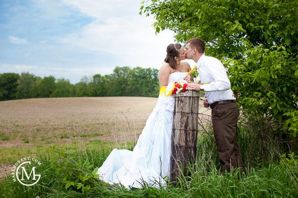 Brad & Alyssa Wed-17