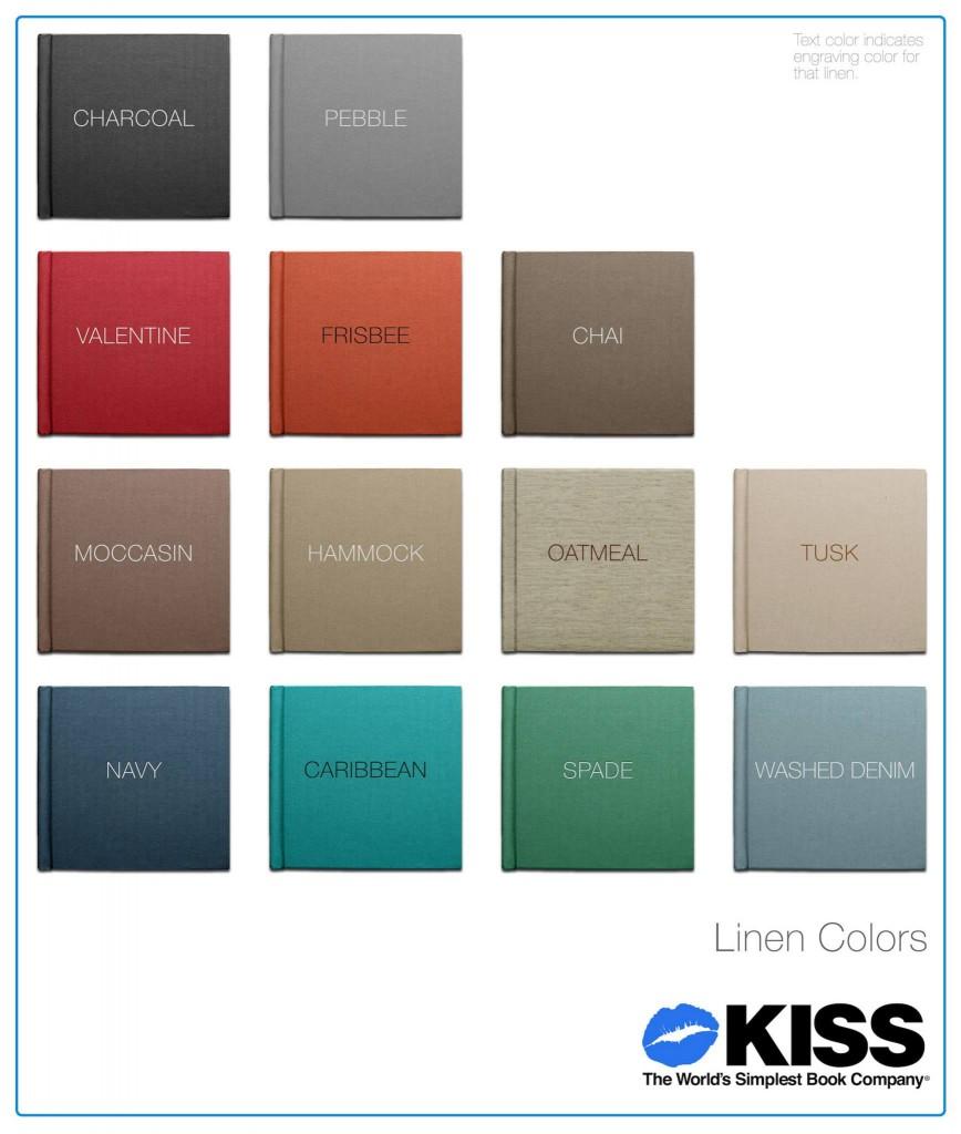 Linen Album Colors
